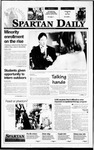 Spartan Daily, November 2, 1995 by San Jose State University, School of Journalism and Mass Communications