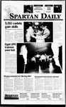 Spartan Daily, November 3, 1995 by San Jose State University, School of Journalism and Mass Communications