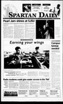 Spartan Daily, November 6, 1995 by San Jose State University, School of Journalism and Mass Communications