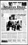 Spartan Daily, November 14, 1995 by San Jose State University, School of Journalism and Mass Communications