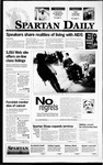 Spartan Daily, November 28, 1995 by San Jose State University, School of Journalism and Mass Communications