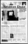 Spartan Daily, December 1, 1995 by San Jose State University, School of Journalism and Mass Communications