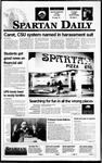 Spartan Daily, December 5, 1995 by San Jose State University, School of Journalism and Mass Communications