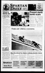 Spartan Daily, February 9, 1996 by San Jose State University, School of Journalism and Mass Communications