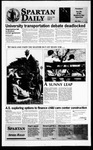 Spartan Daily, February 15, 1996 by San Jose State University, School of Journalism and Mass Communications