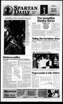 Spartan Daily, March 18, 1996 by San Jose State University, School of Journalism and Mass Communications