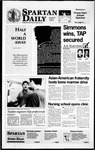 Spartan Daily, March 20, 1996 by San Jose State University, School of Journalism and Mass Communications