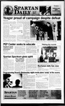 Spartan Daily, April 2, 1996 by San Jose State University, School of Journalism and Mass Communications