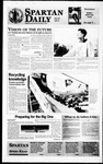 Spartan Daily, April 3, 1996 by San Jose State University, School of Journalism and Mass Communications