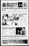 Spartan Daily, April 4, 1996 by San Jose State University, School of Journalism and Mass Communications