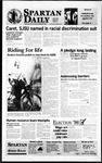 Spartan Daily, April 8, 1996 by San Jose State University, School of Journalism and Mass Communications
