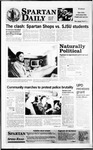 Spartan Daily, April 9, 1996 by San Jose State University, School of Journalism and Mass Communications