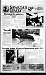 Spartan Daily, April 12, 1996 by San Jose State University, School of Journalism and Mass Communications