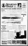 Spartan Daily, April 18, 1996 by San Jose State University, School of Journalism and Mass Communications
