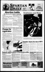 Spartan Daily, April 19, 1996 by San Jose State University, School of Journalism and Mass Communications