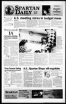 Spartan Daily, May 2, 1996 by San Jose State University, School of Journalism and Mass Communications