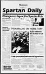 Spartan Daily, September 9, 1996 by San Jose State University, School of Journalism and Mass Communications