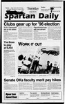 Spartan Daily, September 10, 1996 by San Jose State University, School of Journalism and Mass Communications