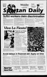 Spartan Daily, September 16, 1996 by San Jose State University, School of Journalism and Mass Communications