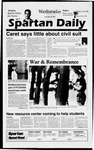 Spartan Daily, September 18, 1996 by San Jose State University, School of Journalism and Mass Communications