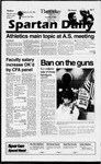 Spartan Daily, September 19, 1996 by San Jose State University, School of Journalism and Mass Communications
