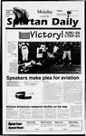 Spartan Daily, September 23, 1996 by San Jose State University, School of Journalism and Mass Communications