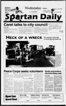 Spartan Daily, September 25, 1996 by San Jose State University, School of Journalism and Mass Communications