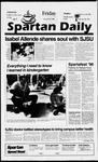 Spartan Daily, September 27, 1996 by San Jose State University, School of Journalism and Mass Communications