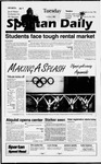 Spartan Daily, October 1, 1996 by San Jose State University, School of Journalism and Mass Communications