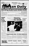 Spartan Daily, October 10, 1996