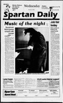 Spartan Daily, October 16, 1996 by San Jose State University, School of Journalism and Mass Communications
