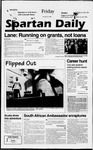 Spartan Daily, October 18, 1996 by San Jose State University, School of Journalism and Mass Communications