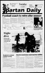 Spartan Daily, October 22, 1996 by San Jose State University, School of Journalism and Mass Communications