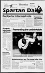Spartan Daily, October 24, 1996 by San Jose State University, School of Journalism and Mass Communications