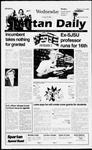 Spartan Daily, October 30, 1996 by San Jose State University, School of Journalism and Mass Communications