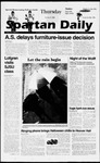Spartan Daily, October 31, 1996 by San Jose State University, School of Journalism and Mass Communications