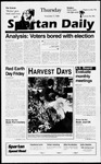 Spartan Daily, November 7, 1996 by San Jose State University, School of Journalism and Mass Communications