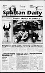 Spartan Daily, November 8, 1996 by San Jose State University, School of Journalism and Mass Communications