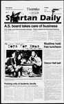 Spartan Daily, November 14, 1996 by San Jose State University, School of Journalism and Mass Communications