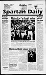 Spartan Daily, November 25, 1996 by San Jose State University, School of Journalism and Mass Communications