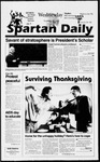 Spartan Daily, November 27, 1996 by San Jose State University, School of Journalism and Mass Communications