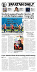 Spartan Daily, October 7, 2015 by San Jose State University, School of Journalism and Mass Communications