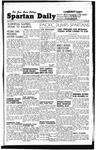 Spartan Daily, November 3, 1947 by San Jose State University, School of Journalism and Mass Communications