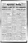 Spartan Daily, November 5, 1947 by San Jose State University, School of Journalism and Mass Communications