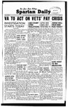 Spartan Daily, November 13, 1947 by San Jose State University, School of Journalism and Mass Communications