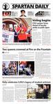 Spartan Daily, October 20, 2015