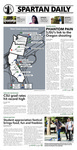Spartan Daily, October 22, 2015 by San Jose State University, School of Journalism and Mass Communications