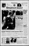 Spartan Daily, January 22, 1997 by San Jose State University, School of Journalism and Mass Communications