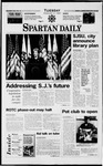 Spartan Daily, February 4, 1997 by San Jose State University, School of Journalism and Mass Communications