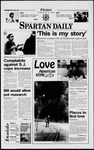 Spartan Daily, February 14, 1997 by San Jose State University, School of Journalism and Mass Communications